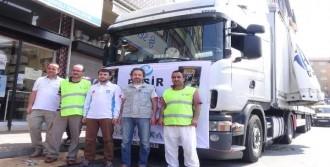 Zonguldak'tan Suriye'ye Yardım TIR'ı