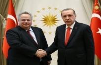 Yunanistan Dışişeri Bakanı Kocias istifa etti!