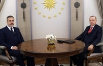 Erdoğan, MİT Başkanı Fidan'ı kabul etti
