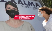 Gaziemir'den kadınlara, sessiz kalma çağrısı