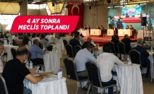 İzmir Büyükşehir Belediye Meclisi 4 ay sonra toplandı