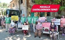 İzmir'de açılması planlanan maden ocağına tepki!