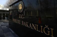 Dışişleri'nden 'Türk gemisine saldırı' açıklaması