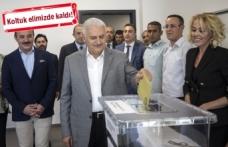 Başbakan Yıldırım oyunu İzmir'de kullandı!