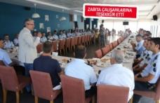 Karşıyaka Zabıtası'ndan 62. yıl kutlaması