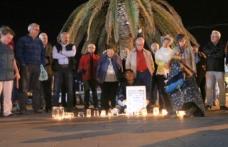 Ankara garı saldırısında ölenler Foça'da anıldı