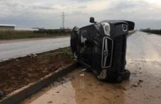 CHP'li belediye başkanı trafik kazası geçirdi