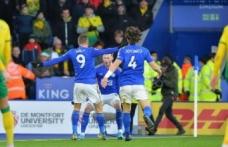 Leicester 8 maç sonra puan kaybetti