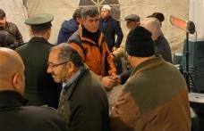 Feyzioğlu'ndan şehit Teğmen Bilir'in ailesine taziye ziyareti