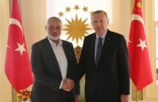 Erdoğan, Hamas Lideri Heniyye'yi kabul etti