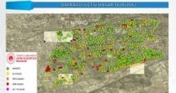Bakanlıktan haritalı hasar tespit raporu