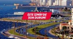 İşte İzmir'in yeni koronavirüs haritası