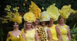 Royal Ascot'ta yine birbirinden ilginç şapkalar