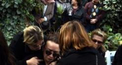 Fotoğraflarla Çika'nın cenazesi