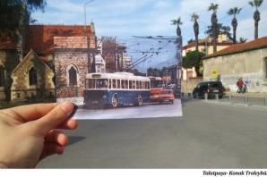 İzmir sokaklarını kentin geçmişiyle buluşturan fotoğraflar