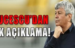 Lucescu'dan İlk Açıklama