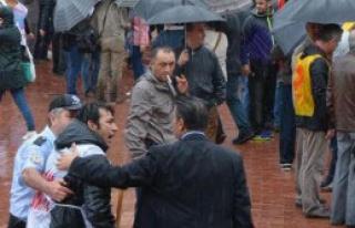 Sinop'ta Öğretmen Eylemine Polis Müdahale Edince...