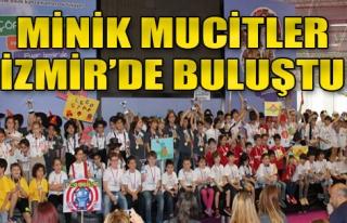 Minik Mucitler Fuar İzmir'de Buluştu