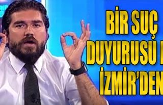 Kütahyalı Hakkında İzmir'den Suç Duyurusu