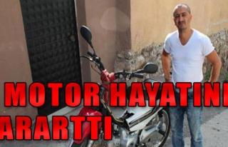 Motosiklet Hayatını Kaybetti