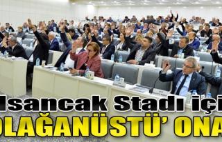 Alsancak Stadı İçin 'Olağanüstü' Onay