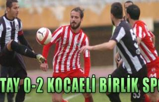 Altay 0-2 Kocaeli Birlik Spor