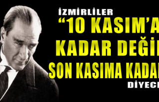 İzmirliler Atatürk İçin Yürüyecek