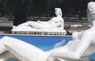 Kültürpark mermer doldu