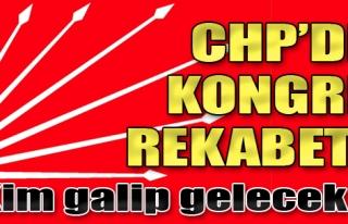 CHP'de Kongre Rekabeti