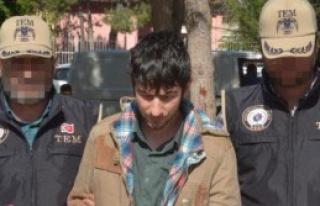 Polise EYP Atan Kişi Yakalandı