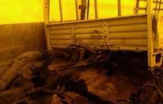 İki Kamyonet Düzce'de Ele Geçirildi