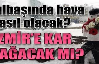 Yılbaşında İzmir'e Kar Yağacak mı?