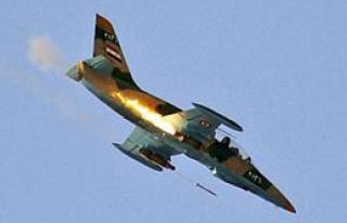'IŞİD'in Uçakları İmha Edildi