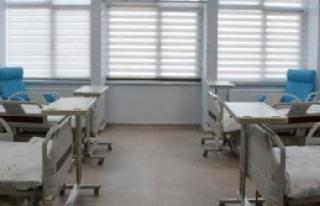 Tepecik Hastanesi'nde Servisler Yenileniyor