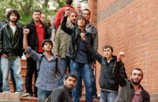 SDÜ'de Çelik Protestosu