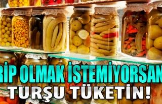 Grip Olmak İstemiyorsanız Turşu Tüketin