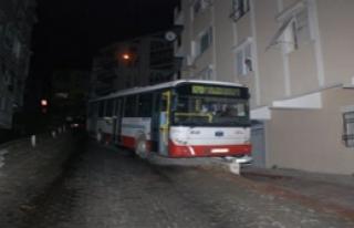 Otobüs Mahalleye Bomba Gibi Düştü