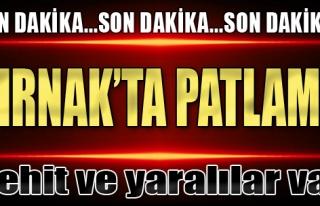 Şırnak'ta Patlama: 1 Korucu Şehit