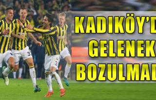 Fenerbahçe Evinde Yine Kral