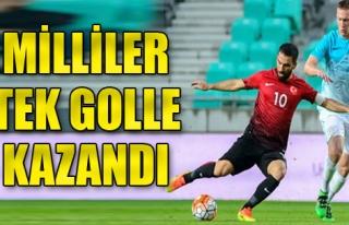 Slovenya 0-1 Türkiye
