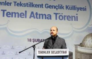 Bilal Erdoğan Törene Katıldı