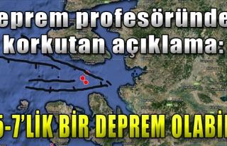 İzmirli Profesörden Korkutan Açıklama