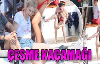Aleyna Tilki, Emrah Karaduman ile Çeşme'de Görüntülendi