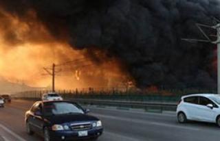 Bursa'da Dev Yangın