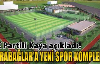 Karabağlar'a Yeni Spor Kompleksi Geliyor