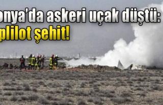 Konya'da Eğitim Uçağı Düştü!