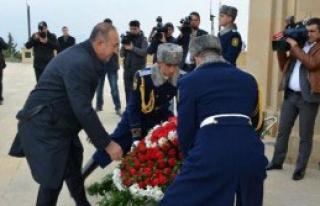 Mevlüt Çavuşoğlu Azerbaycan'da