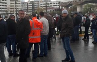 İzmir Limanı'nda İntihar