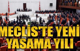 Meclis'te Yeni Yasama Yılı