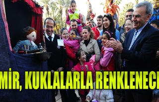 İzmir, Kuklalarla Renklenecek